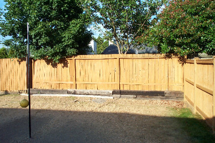 Five Minute Fence Stain